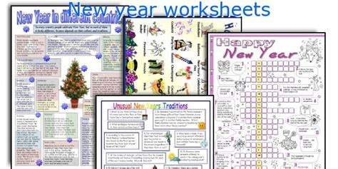 new year traditions worksheet worksheets 187 new to worksheets printable