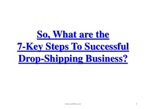 how to your to drop it how to start your own drop shipping business in 7 key steps