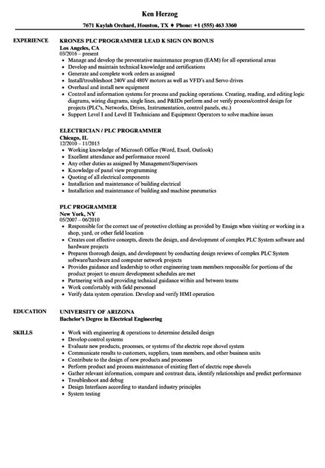 Programming Resume by Programming Resume Sanitizeuv Sle Resume And