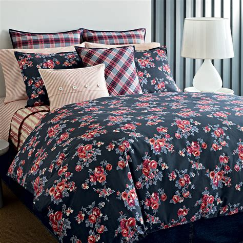 tommy hilfiger rustic floral comforter and duvet sets from