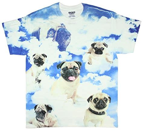 pugs t shirt pugs in the clouds pugs the limit graphic t shirt getpuggedup pug shop