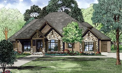 tudor house elevations house plan 82162 at familyhomeplans com