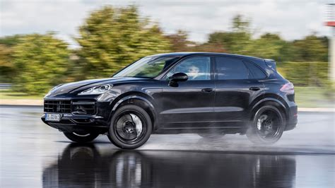 porsche suv blacked out porsche cayenne suv 2017 ride review car magazine