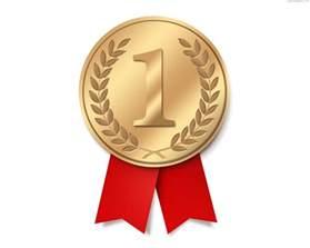 award ribbon template gold medal with ribbon psd psdgraphics
