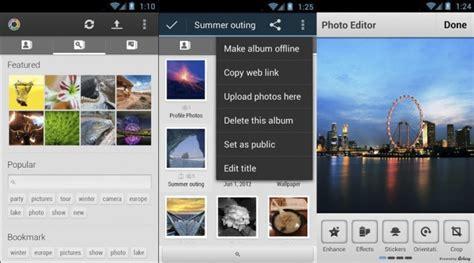 picasa photo editor for android picasa tool sube edita y organiza tus fotos de picasa desde tu android el androide libre