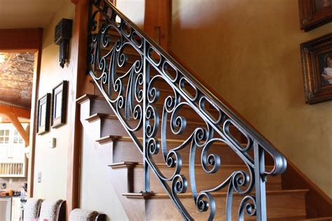 Banister Iron Works by Interior Railings Archives Antietam Iron Works