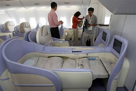 A380 Plane Interior by Airbus A380 Aircraft Airliner History Information Facts