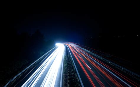 road light trails wallpapers hd desktop and