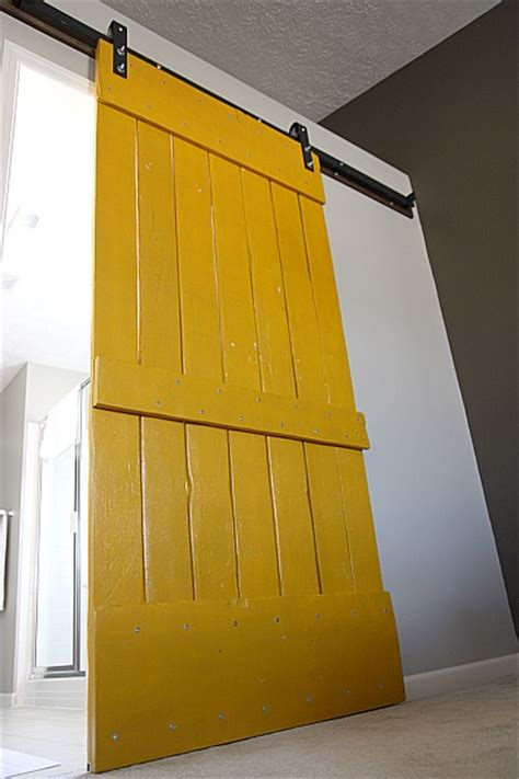 Yellow Barn Door 4 Doors That Will Transform Any Room Ottawa General Contractors