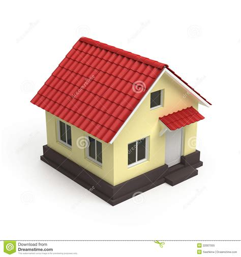 picture of house house 3d icon royalty free stock photo image 22007055