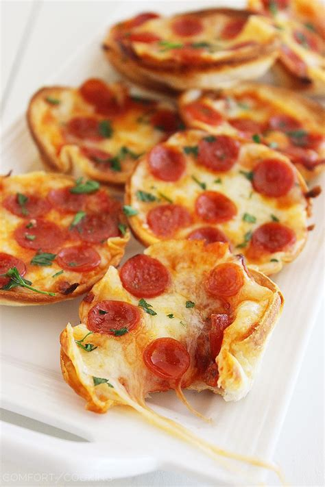 the comfort of cooking the comfort of cooking 187 easy mini tortilla pizzas