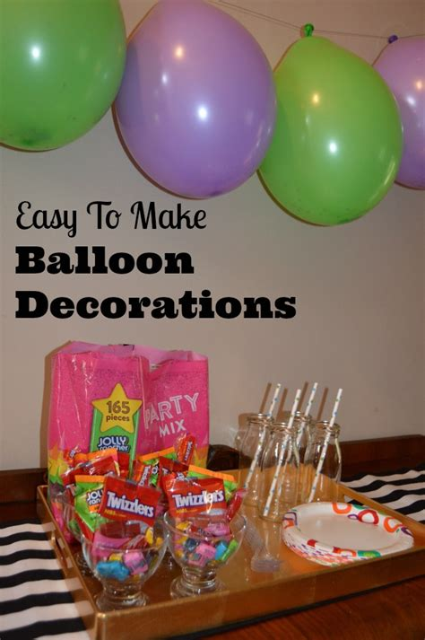 How To Make Balloon Decorations by Filled Birthday Balloon Decoration Ideas