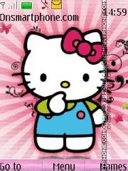 hello kitty themes in nokia c3 temas de dibujos animados para el nokia c3 mil recursos