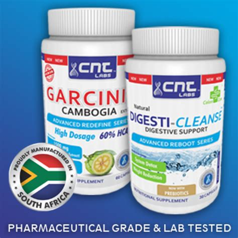 Detox Plan South Africa by Weight Management Slimming Garcinia Cambogia 1500mg 60