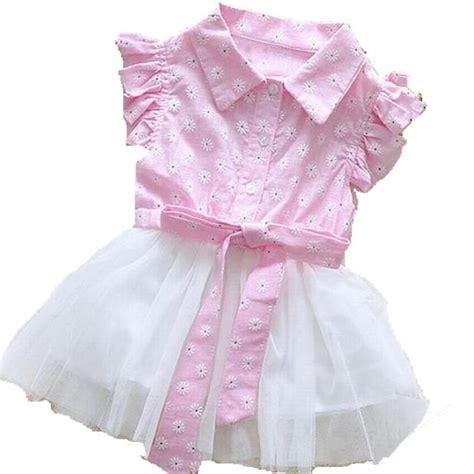 Baby Dress Cotton 1 2018summer newborn baby dress clothes cotton lace beautiful flower dresses casual dress
