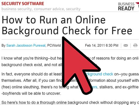 Run A Free Background Check How Do I Run A Background Check On Someone For Free Background Ideas