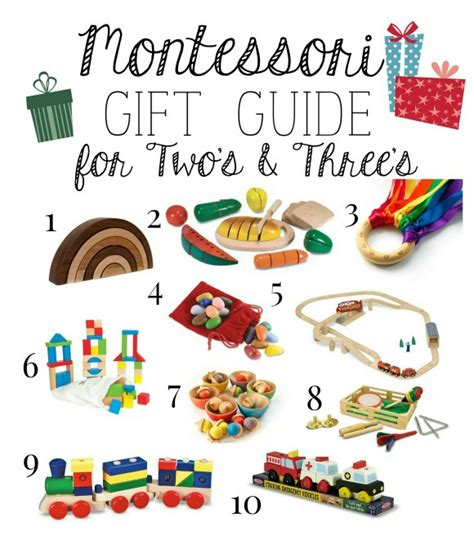 christmas gifts for 2 3 year olds montessori gift guide for two s three s