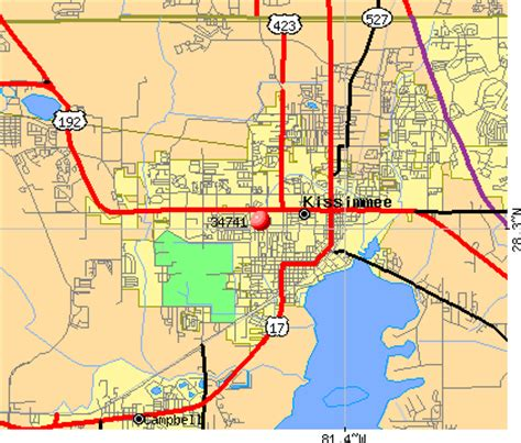 poinciana florida map map of kissimmee florida my