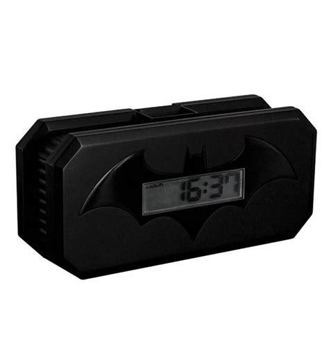dc comics batman projection alarm clock
