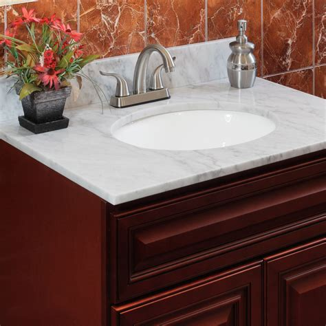 Vanity Tops For Bathrooms Marble Vanity Tops By Lesscare Shop Bathroom Vanity Tops
