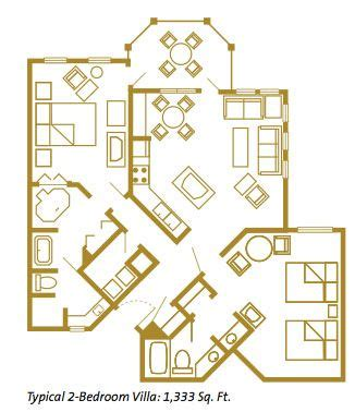disney old key west 2 bedroom villa floor plan 2 bedroom villa old key west resort disney d pinterest