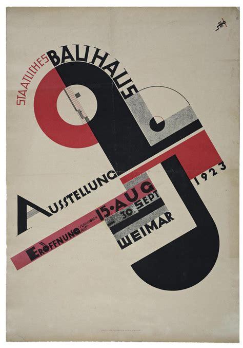 bonn bauhaus ausstellung plakat zur bauhaus ausstellung in weimar 1923 bauhaus100