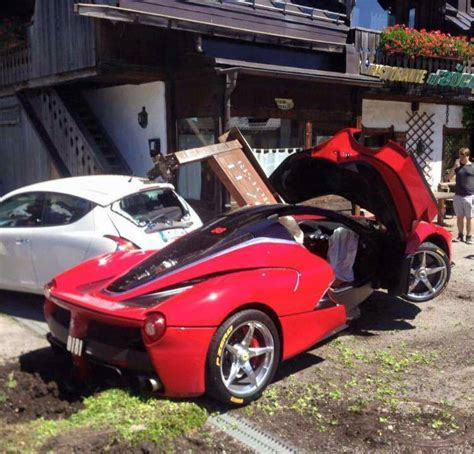Laferrari Driver Crashes Into Another Laferrari After