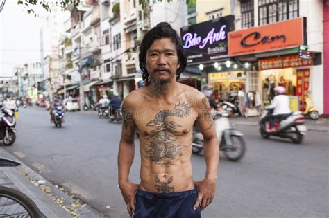 tattoo prices vietnam traditional tattoo editorial stock photo image of china