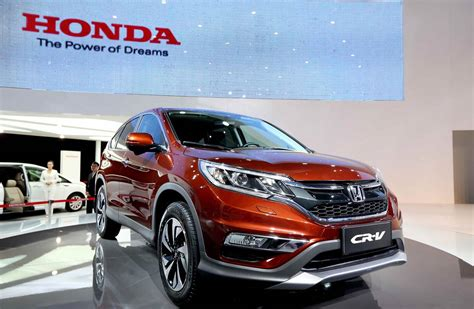 Honda Cr V Production by Honda To Boost Crossover Suv Capacity To Maintain U S