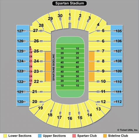 msu student section football tickets michigan state football tickets 2018 msu spartans tickets