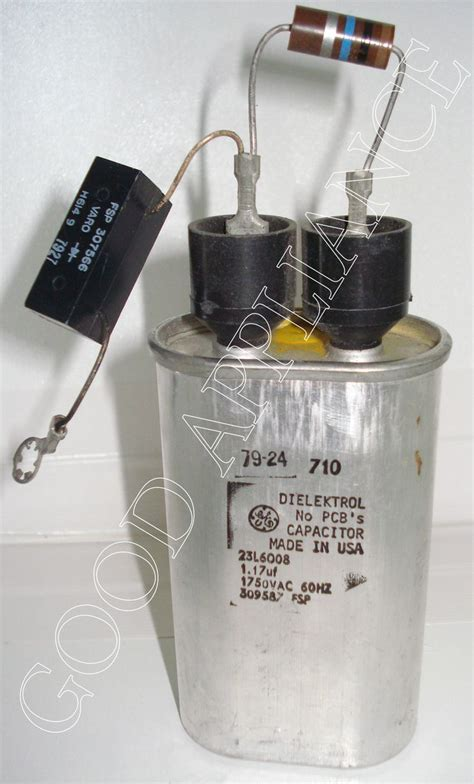 309587 whirlpool microwave capacitor with diode and rectifier products products