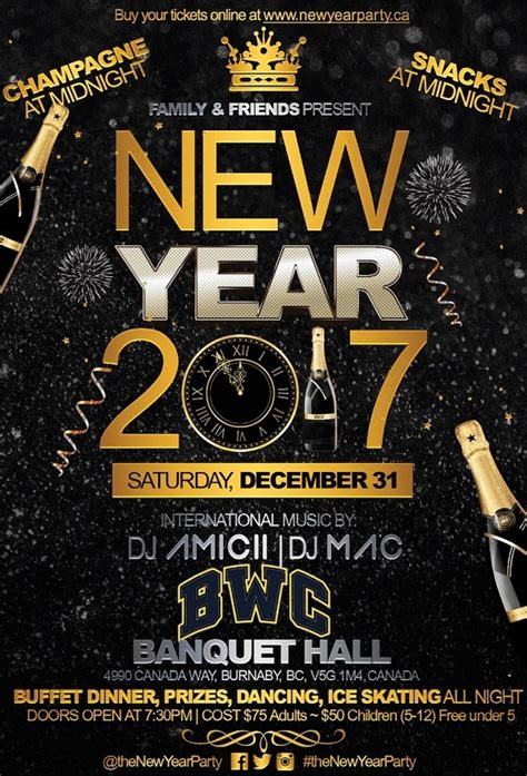 new years eve boat party vancouver family friendly new year party 2017 at bwc banquet hall