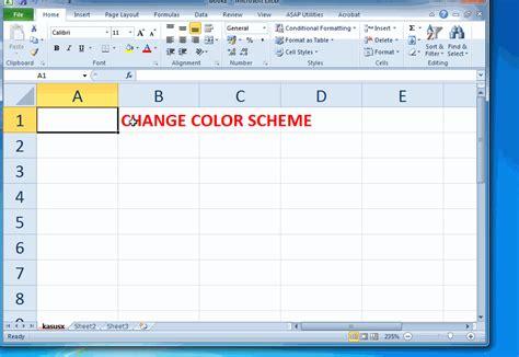 color themes in excel 2010 color scheme pada microsoft excel 2010 kasusx