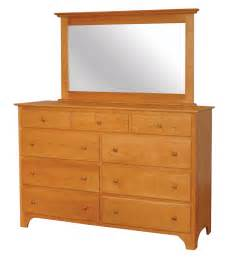 shaker dresser amish furniture designed