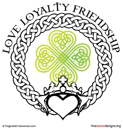 irish claddagh tattoo designs 77 tattoos shamrock clover cross claddagh