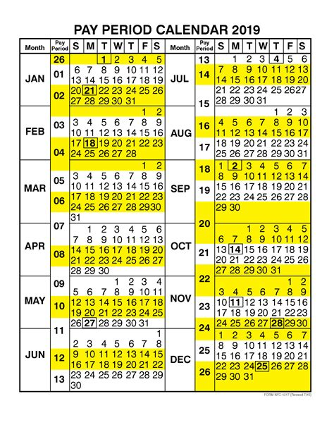 pay period calendar   calendar year  printable  monthly calendar  holidays