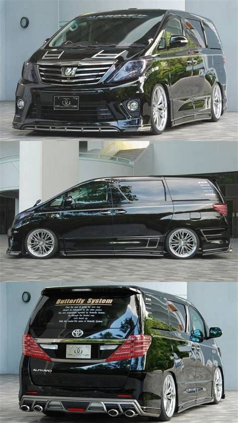 images  vellfire modified  pinterest cars