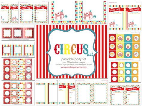 carnival tickets template free printable 9 best images of free circus printables circus birthday