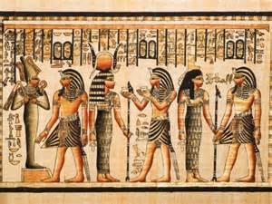 foto mural pinturas egipcias abstracto
