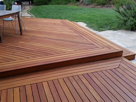 Washed Out Colors - hardwood garapa deck cal preserving