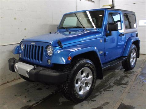 2015 chrysler jeep 2015 jeep wrangler 2dr 4x4 gps navigation blue