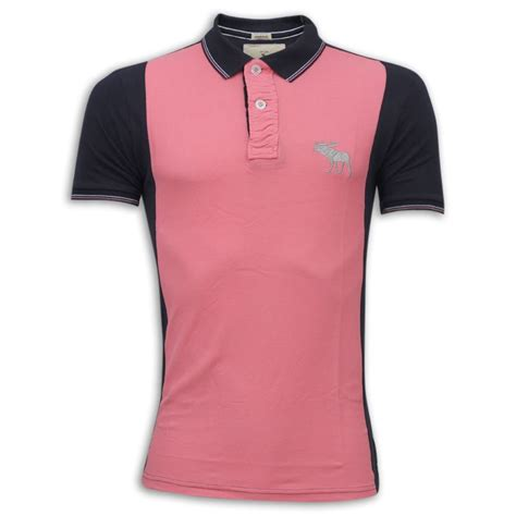 Polo Shirt Abercrombie abercrombie fitch polo shirt mh23p pink black