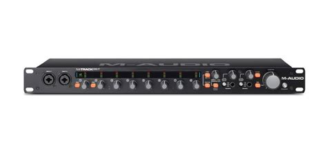 8 Audio Channel by M Audio M Track Eight 8 Channel Usb 2 0 Audio Interface