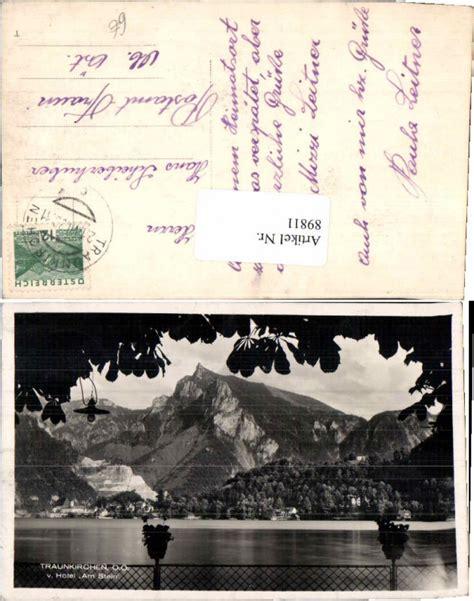 traumk chen g nstig 89811 traunkirchen vom hotel am stein 1930 ansichtskarten