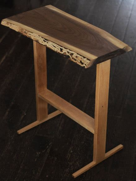 walnut woodworking projects quot serious quot project live edge black walnut end table