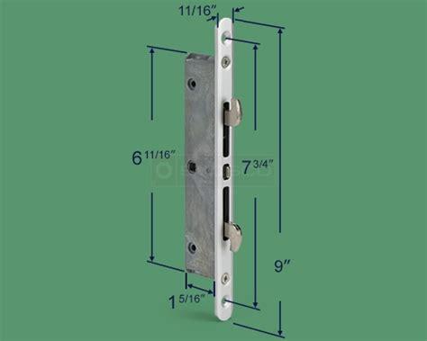 Patio Door Replacement Locks 82 238 Hook Mortise Lock Swisco