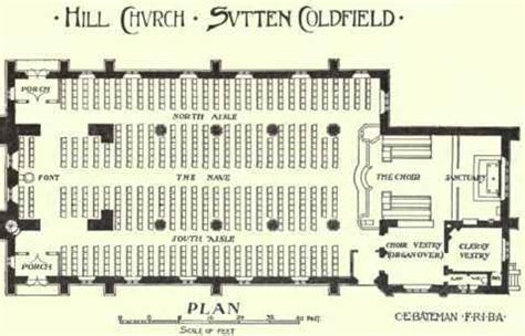 Parts Of Church Interior by Parts Of A Church Floor Plan Of Home Plans Ideas Picture