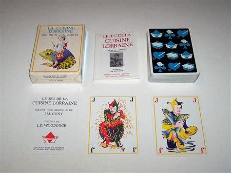 le jeu de la cuisine edition arts et lettres le jeu de la cuisine lorraine