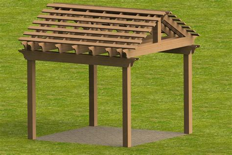 how to build a gable roof pergola yard and garden pergola with gable roof building plans ebay