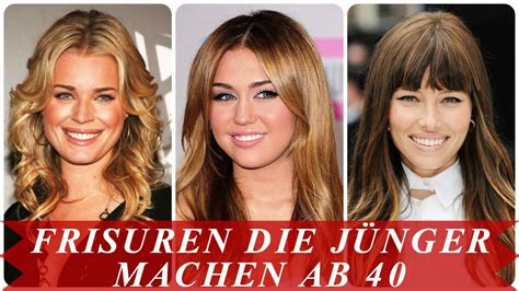 frisuren die juenger machen ab  youtube